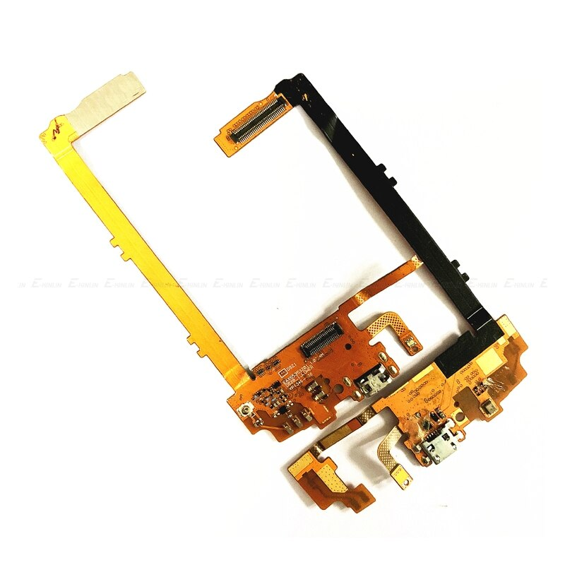 Conector de carga de alimentación USB puerto de enchufe Dock Flex Cable...