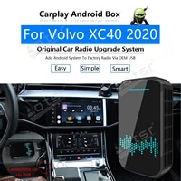 for volvo xc40 2020 car multimedia player radio upgrade carplay android apple wireless cp box activator navi map gps mirror link