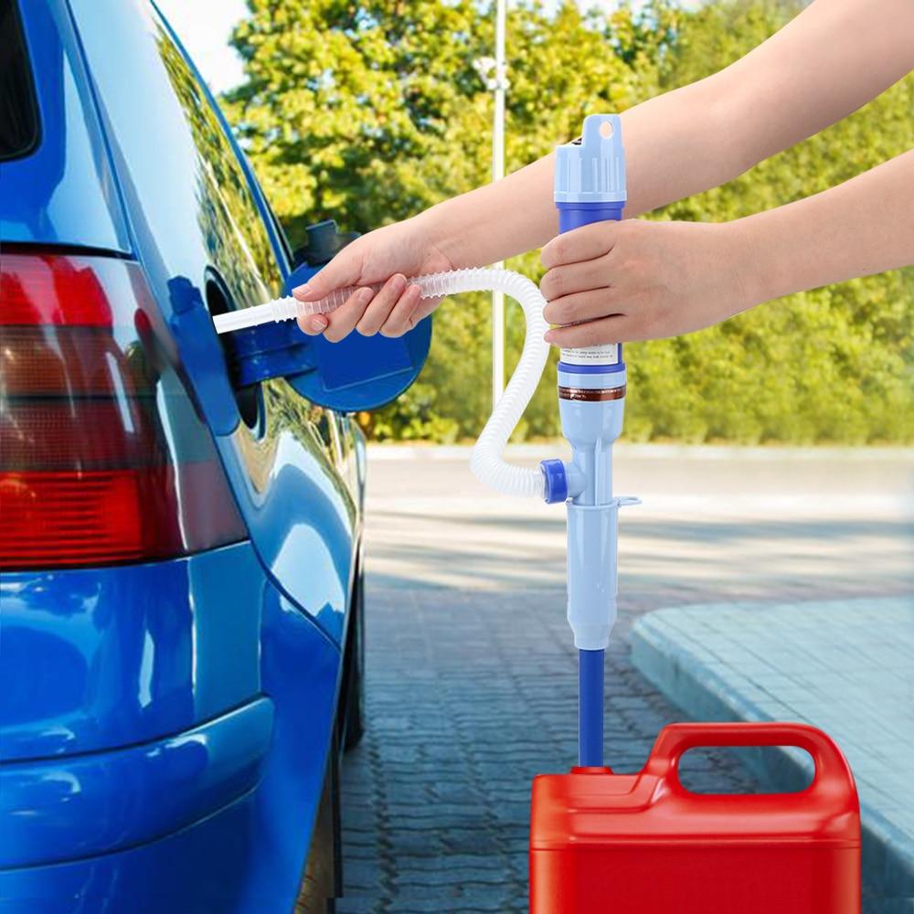 LEEPEE бытовой портативный автомобильный Стайлинг жидкое масло для автомобиля для перекачки топлива всасывающие насосы Электрический Ручной водяной насос