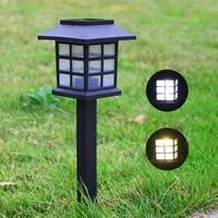 outdoor led solar lights garden lights waterproof solar landscape lights for lawn patio yard garden walkway decoration lights