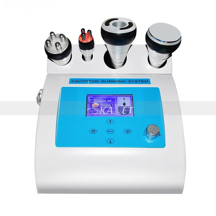 جهاز تجميل لإزالة تجاعيد الوجه RF متعدد الأقطاب بتجويف جسم بحجم 40K للاستخدام في السبا/المنزل