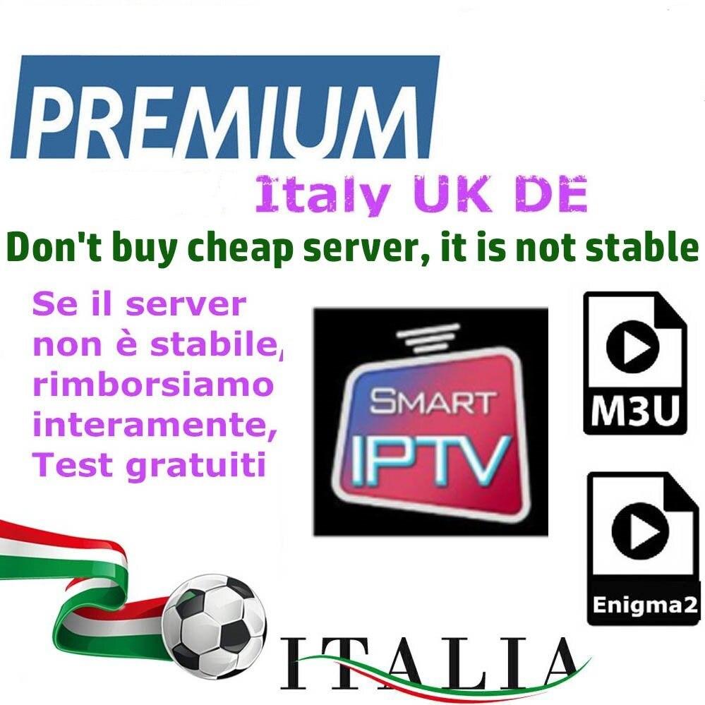 Itália iptv m3u para iptv itália alemão premium para android caixa enigma2 smart tv pc linux