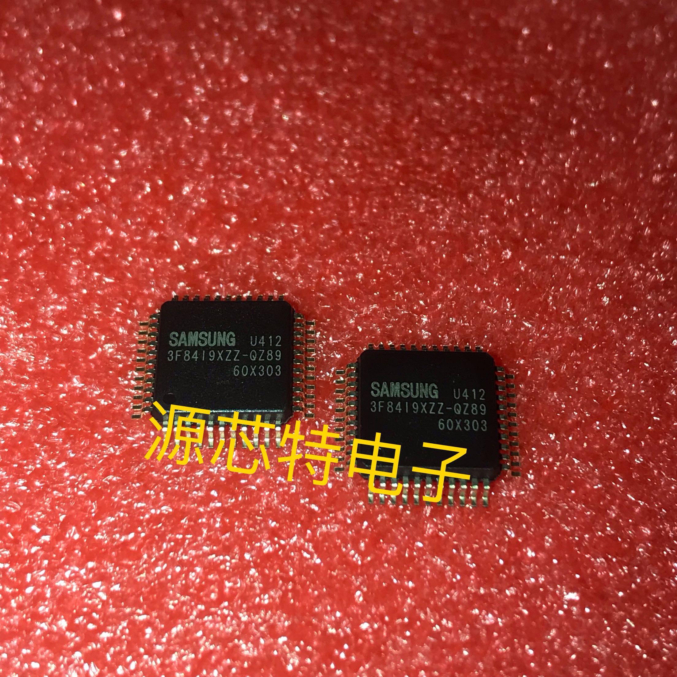 100% Novo & Original 3F8419XZZ-QZ89 S3F8419XZZ QFP-44