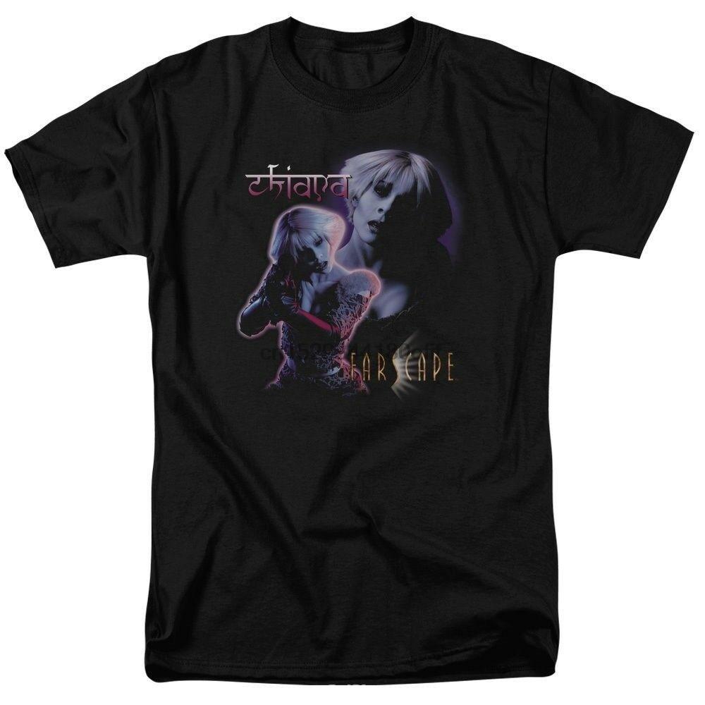 Farscape chiana camisetas tamanhos S-3X novo (1)