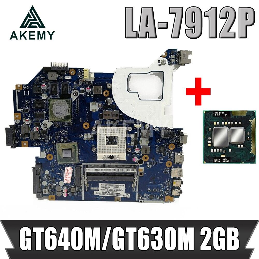 Für Acer aspire V3-571 V3-571G E1-571G Laptop Motherboard HM77 DDR3 NBRZP11001 Q5WVH LA-7912P GT640M GT630M 2GB