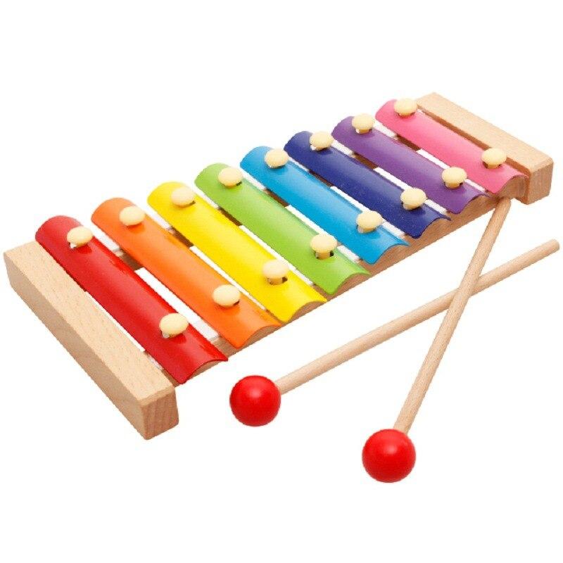 Детские музыкальные инструменты, деревянные ксилофоны, детские музыкальные Забавные Игрушки для маленьких девочек, развивающие игрушки, п...