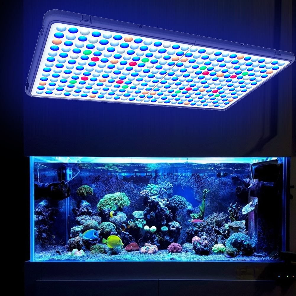 300W 338LED Plant Groeien Paneel Licht Aquarium Zaailingen Groei Lamp Zaailing Groeien En Bloem Groei Lamp Mars Hydro Quantum board