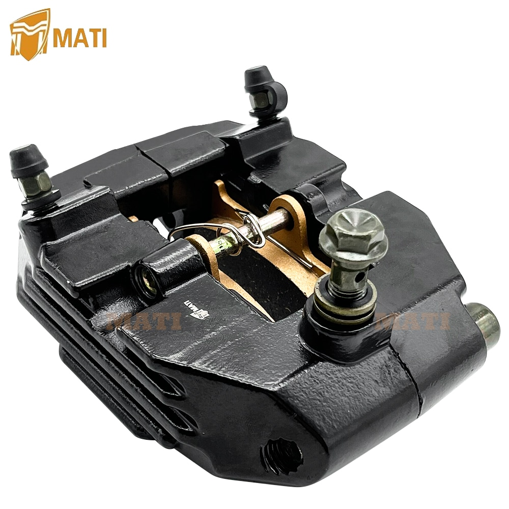 Rear Brake Caliper with Pads for Yamaha Grizzly 660 4X4 YFM660F 2002-2008 5KM-2580V-01-00 enlarge