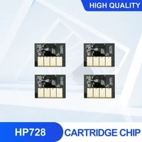 for hp 728 cartridge chip new upgrade hp728 chip f9j68a f9j67a f9j66a f9j65a for hp designjet t730 t830 printer mbk c m y 4pcs