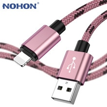 1 2 3 m بيانات USB الحبل المنشأ شاحن آيفون كابل Xs ماكس Xr X 8 7 6 زائد 6s 5 s زائد ipad mini سريع شحن الهاتف المحمول