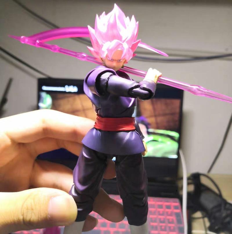 Dragon Ball Z DBZ nadające się do shf róża czarna róża Goku Zamasu figurka zabawki figurki Brinquedos