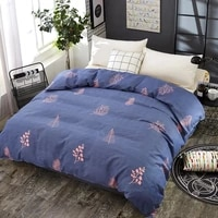 yaapeet home textile modern style duvet cover with zipper 1 piece polyester cotton quilt cover comforter cover bedclothes