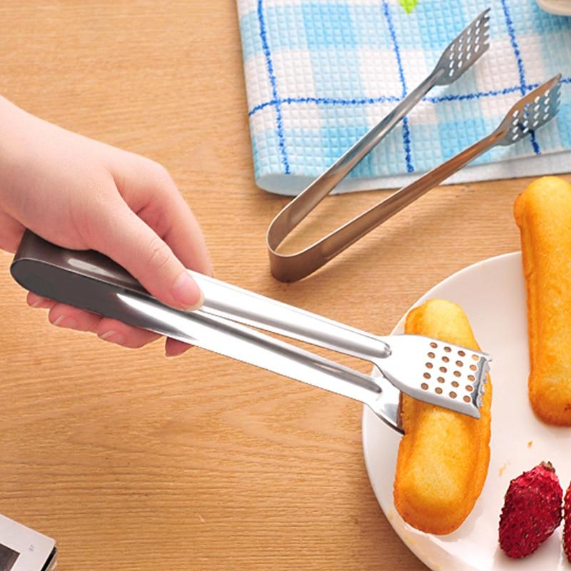 Щипцы для салата из нержавеющей стали, принадлежности для барбекю, кухонные принадлежности для приготовления пищи, сервировочная посуда, к...