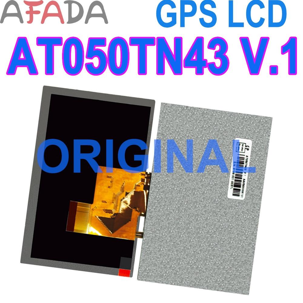 5,0 ''Оригинальный ЖК-экран AT050TN43V.1 ЖК-дисплей 40PIN 800*480 замена экрана панели