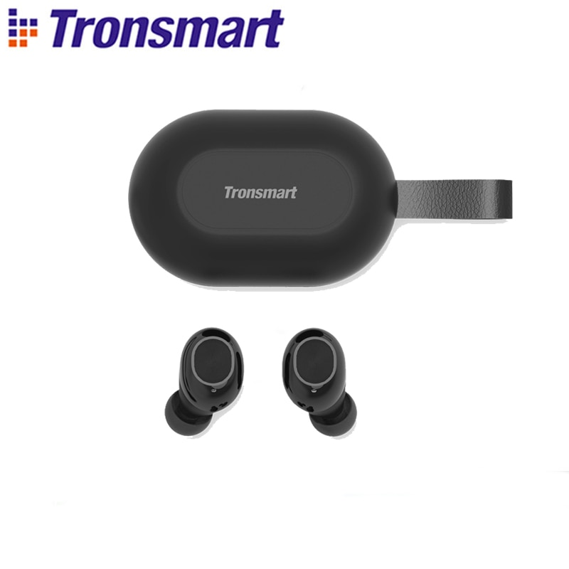 Tronsmart-Auriculares con bluetooth inalámbricos, audífonos Spunky Beat TWS inalámbricos con bluetooth, chip...