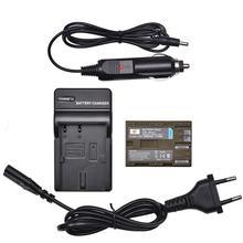 DSTE BP-511 BP-511A Batterie mit EU Stecker Ladegerät und Auto Adapter für Canon PowerShot Pro 1, Pro 90, optura 10, Optura 20, DM-MV30