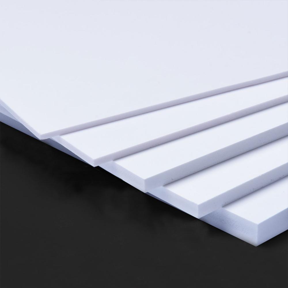 PVC Foam Board Plastic Flat Board Model White Model Plate For DIY Building model materials 300x200mm