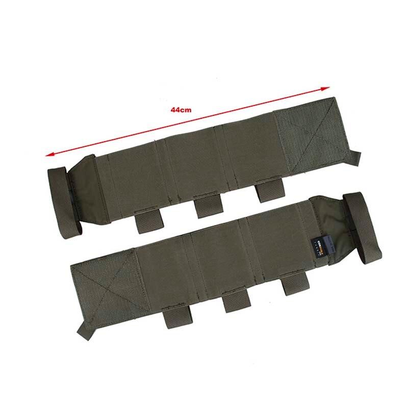 Tático militar tmc elástico lado mag bolsa cummerbun para jpc jpc2.0 colete tático