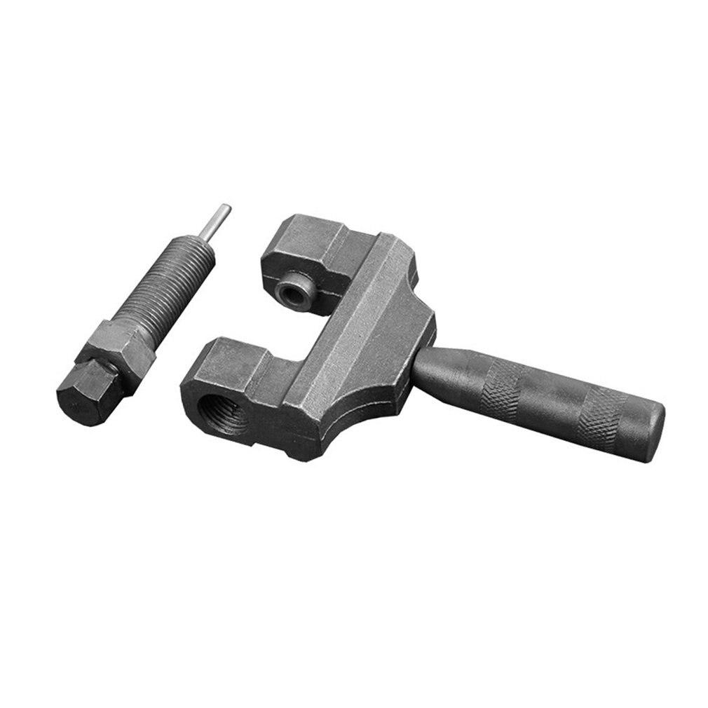 420-530 herramienta de desmontaje de cadena de mango intercambiable de bicicleta y cadena de motocicleta herramienta de desmontaje tipo tarjeta de vehículo eléctrico
