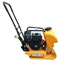 gasoline plate compactor asphalt road backfill soil vibration plate compactor power tools 5500w small compaction plate compactor