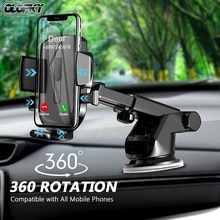 OLOPKY Sucker Car Phone Holder Mobile Phone Holder Stand in Car No Magnetic GPS Mount Support For iPhone 12 11 Pro Xiaomi HUAWEI