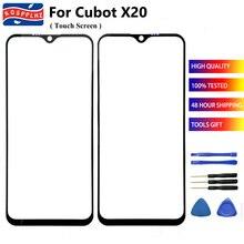 100% de Cubot X20 Pro pantalla táctil de cristal Panel 100% táctil sensible exterior Pantalla táctil frontal para CUBOT X20 / X20Pro teléfono
