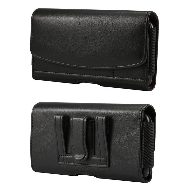Чехол-кобура для мобильного телефона OnePlus 8 Pro, чехол для Blackview BV6900, кожаный чехол с зажимом для ремня и держатель для карт Doogee X95