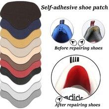 Solette per scarpe da ginnastica solette per riparazione tallone adesivi per calzolaio in viscosa per scarpe calzature sportive Lining tacco appiccicoso antiusura