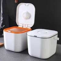 portable rice bucket sealed vacuum insect proof moisture proof storage box household kitchen container kitchen items