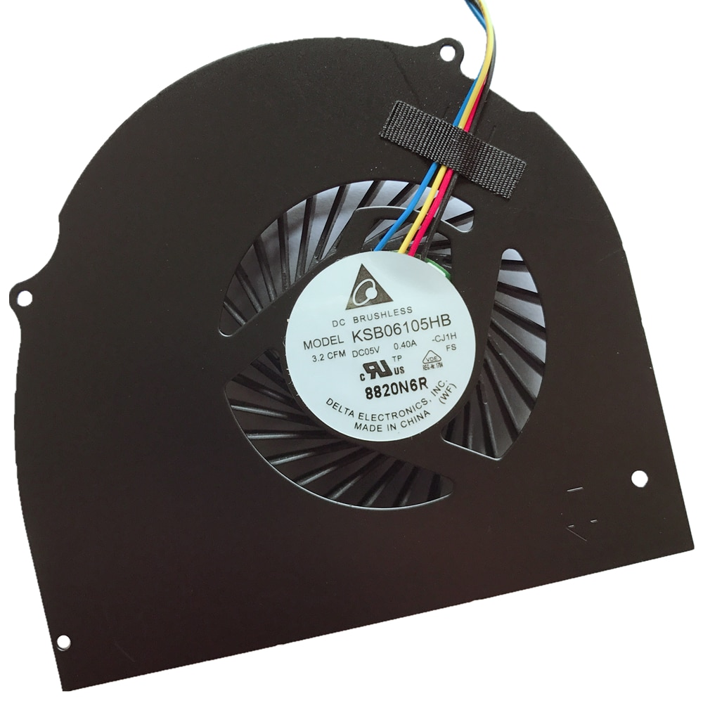 Новый охлаждающий вентилятор для ноутбука Dell Latitude E6540 Precision M2800 072XRJ SUNON MG60120V1-C280-S9A