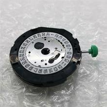 Miyota os20 쿼츠 무브먼트 시계 수리 부품 날짜 4.5 날짜 6 배터리 및 조절 스템