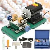280w mini pearl bead drilling machine stepless amber holing machine jewelry drill tool equipment set 110v 220v