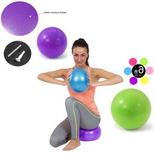 15-22cm Yoga Ball fitball Übung Gymnastic Fitness Pilates Ball Balance Gym Fitness Yoga Core Ball Indoor-Training yoga Bälle