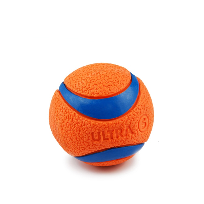 Interactive Pet Dog Toys Dog Ball Toy For Small Medium Large Dogs Funny Training Pet Rubber Balls Bite Resistant Puppy Chew Toy