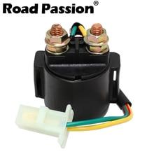 Road Passion-interrupteur dallumage de relais   Démarreur de moto, interrupteur dallumage pour YAMAHA SR185 XS850 XS1100 XZ550 SRX250 TW200 YFB250 YFP350U