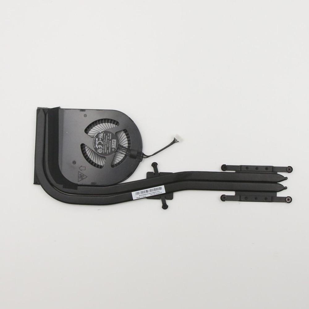 مروحة تبريد ومبدد حراري لجهاز Lenovo Thinkpad T570 ، وحدة المعالجة المركزية FRU 01AY474 01AY475