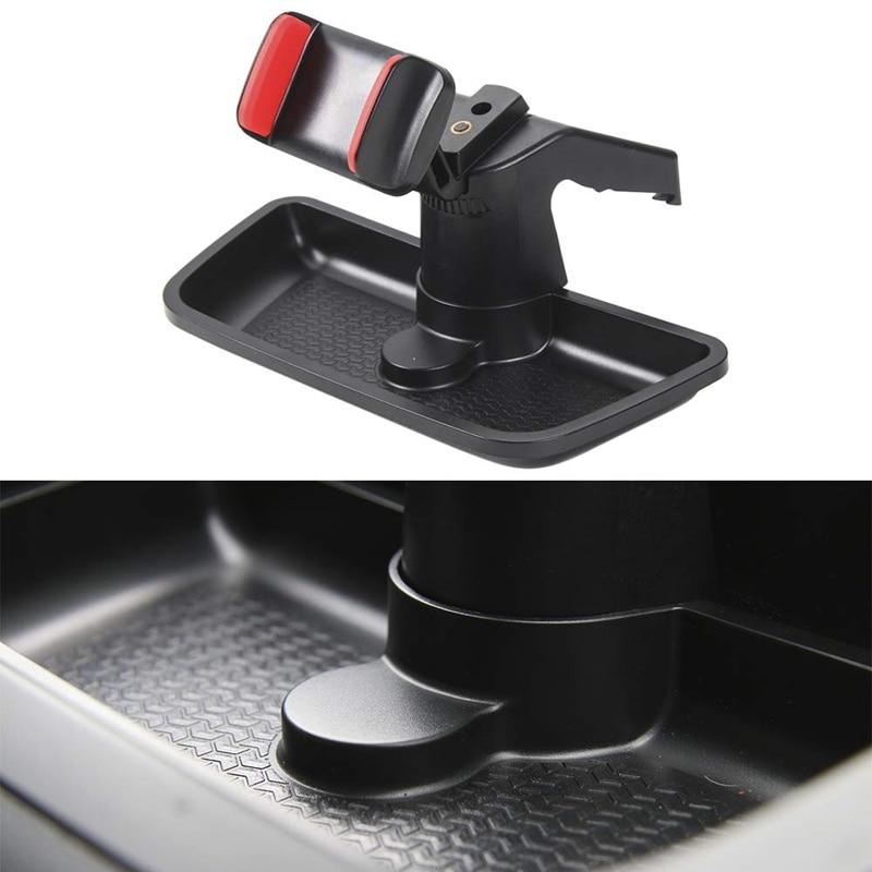 Черный ABS сотовый мобильный телефон Ipad Автомобильный держатель GPS кронштейн крепление на приборную панель держатель Органайзер для хранени...