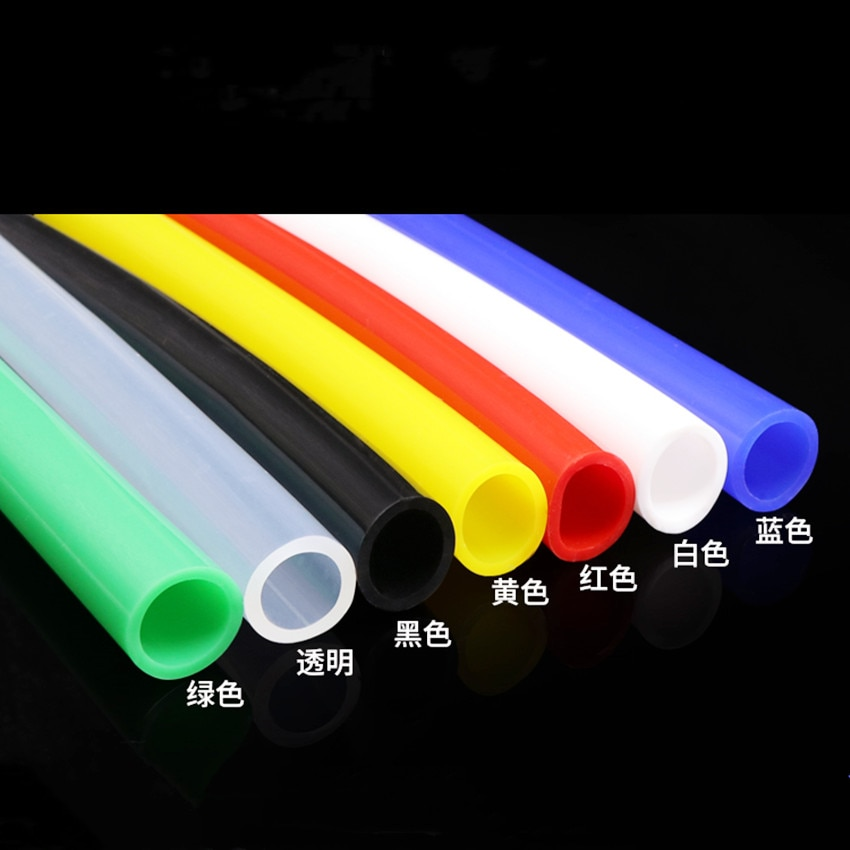 Tubo de silicona 20x24 diámetro interior 20 diámetro exterior 24mm Tubo de MANGUERA DE AGUA de color grado alimenticio sin olor