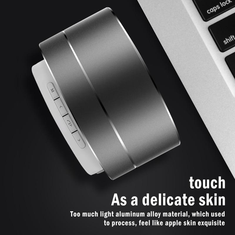 Altavoz portátil con Bluetooth, minicaja de sonido pequeño inalámbrica para exteriores, Subwoofer,...