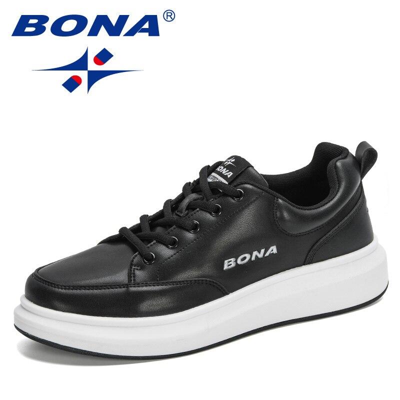 BONA-أحذية رياضية غير رسمية للرجال ، أحذية رياضية مريحة وعادية ، أحذية تنس عصرية ، 2020