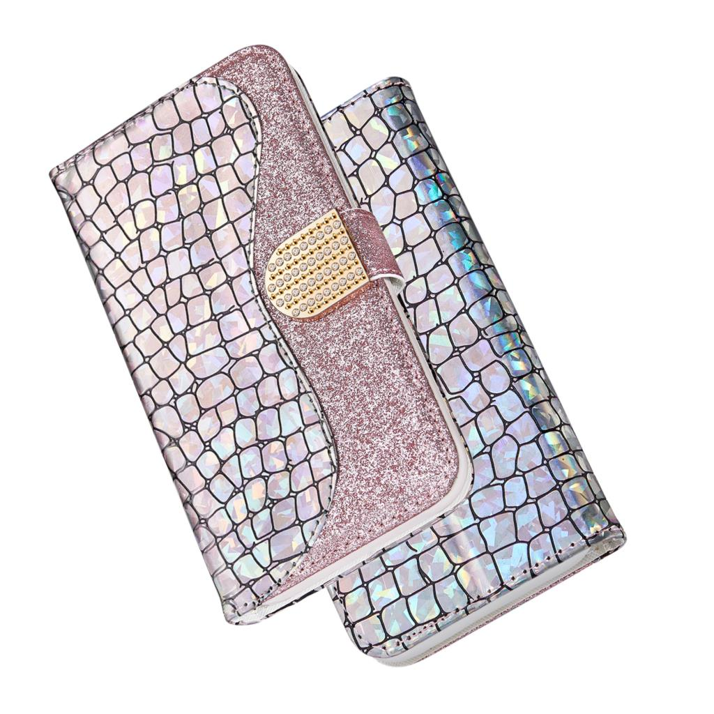Кожаный чехол для Samsung Galaxy A50 A30 A20 A70 A10 A40 A60 A20E блестящий чехол-книжка для Samsung A 50 70 30 20 10