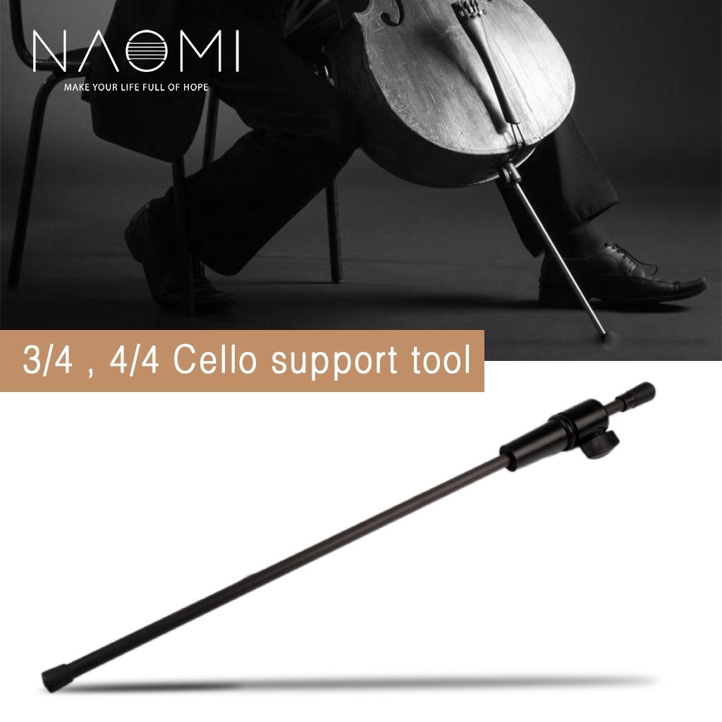 NAOMI 3/4 4/4 виолончели углеродного волокна Endpin для акустической Виолончель & Электрическая Подставка под Виолончель светильник Вес и растягив...