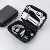 protable earbuds bags earphone storage case shell waterproof protection headphone accessories cable carrying hard bag mini box