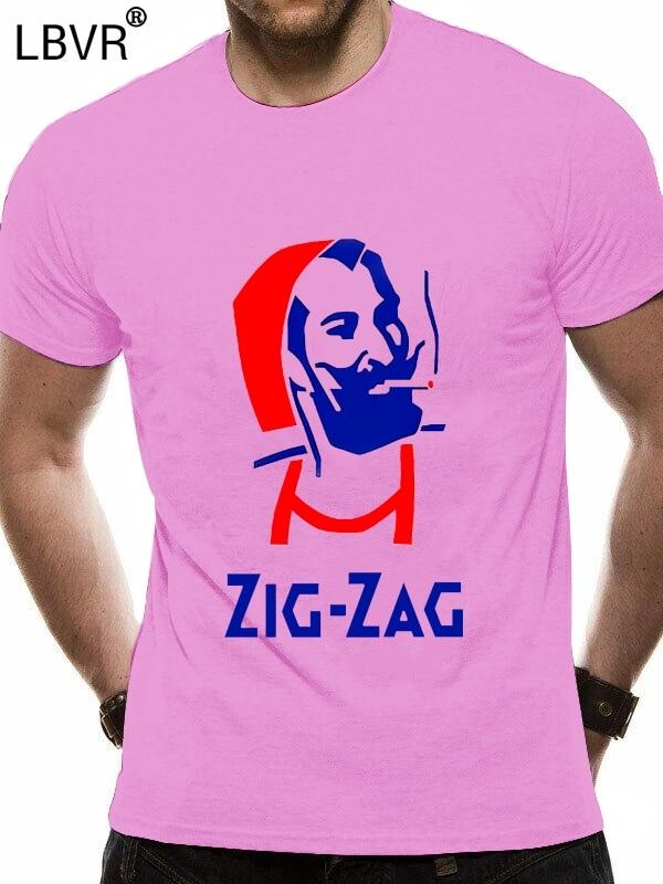 Männer T shirt ZIG ZAG Mann Unkraut Stoner Papers Hippie College Humor Hanf lustige t-shirt neuheit t-shirt frauen