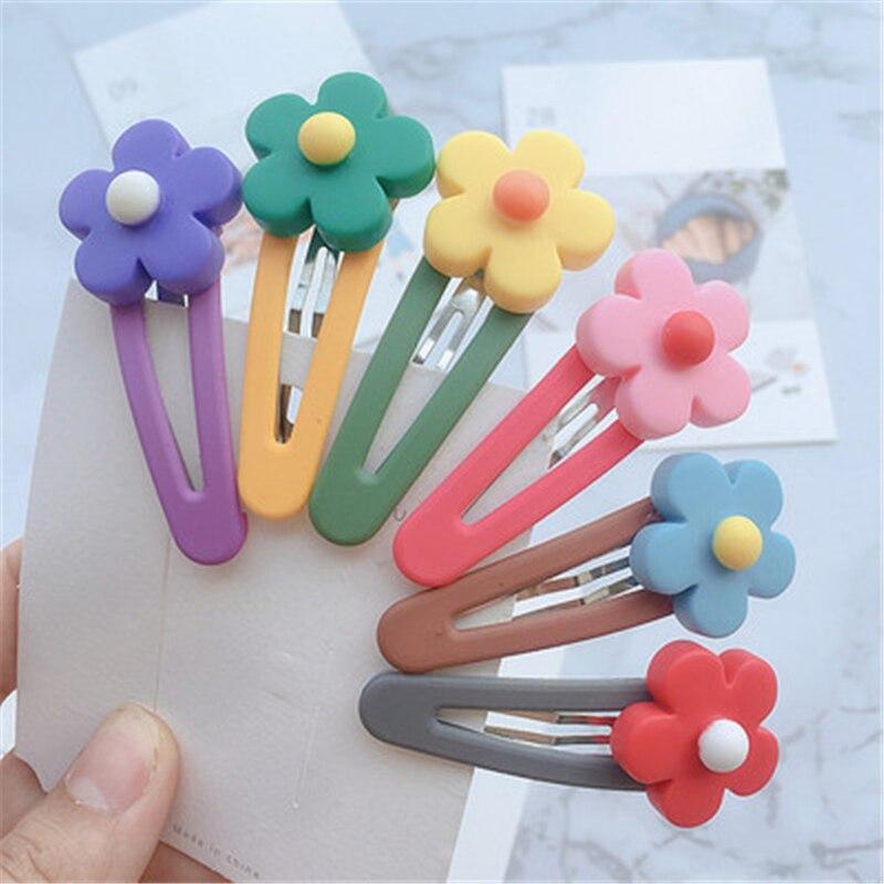 Verão atacado mix estilos de cores flor dos desenhos animados sortidas adorável crianças meninas mulher grampos de cabelo acessórios para o cabelo jóias