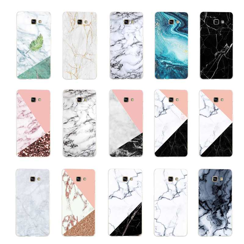 Pattern Printed Beautiful Marble Phone Case for Samsung Galaxy S8 Plus Cover Coque Funda Shell