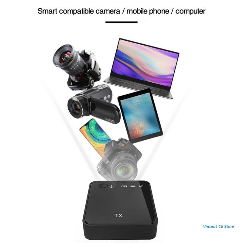 K92F Mini Lavalier Transmitter Microphones Receiver for Smartphone Computer Camera enlarge