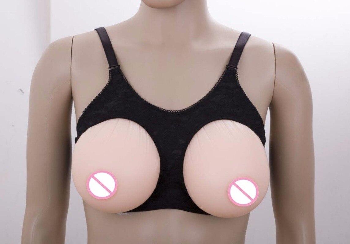 1 par 800g copa C 2 en 1 sujetador profesional de silicona para pecho sujetador de mastectomía para cirugía mujer o hombre Sujetador Push Up para cáncer mamario