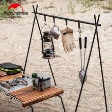 NaturehikeอินเดียแขวนอลูมิเนียมอลูมิเนียมอลูมิเนียมแขวนRackเครื่องมือChenYi Campingสามเหลี่ยมRackแบบพกพาอุป...