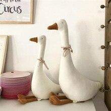 55CM Cute Goose Stuffed Animal Toys Baby Sleeping Dolls Plush Comfort Dolls Soft Pillow Nordic Home Decor Accessories